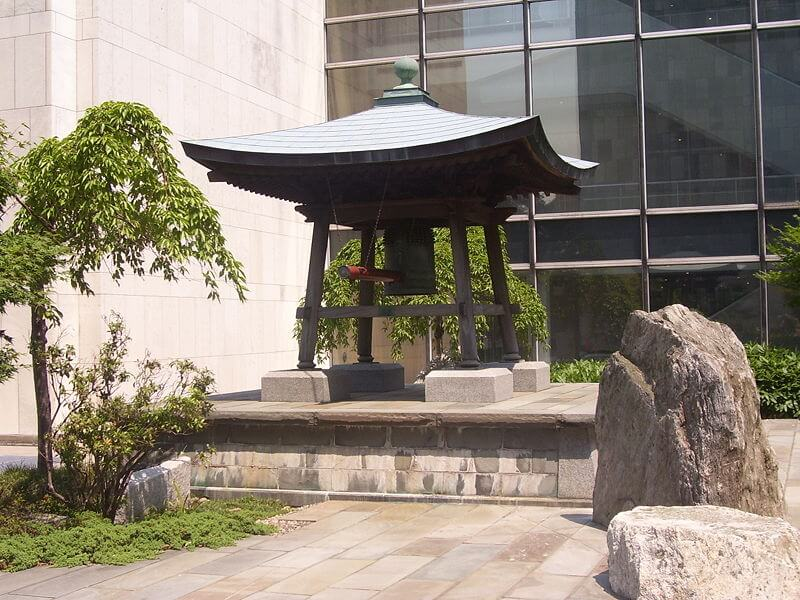 Japanese Peace Bell of United Nations