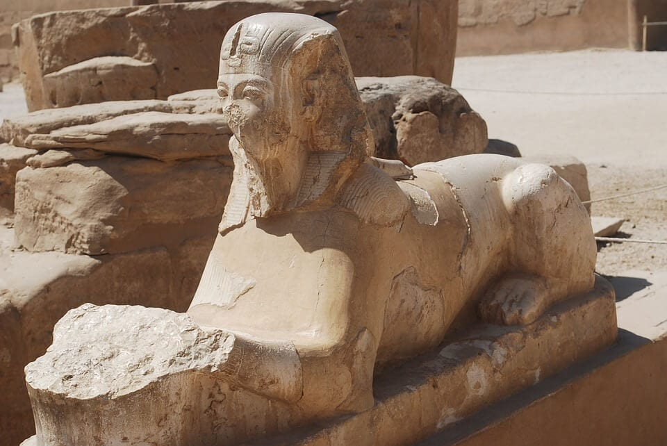 Ancient sphinx symbolic meaning