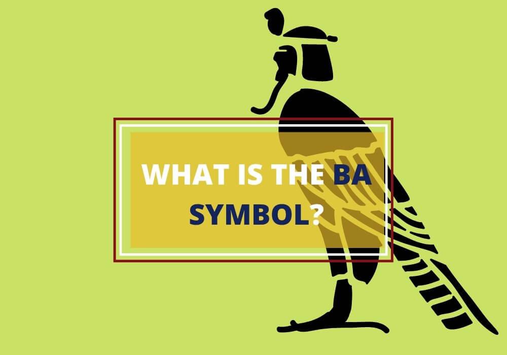 ba symbol ancient Egypt
