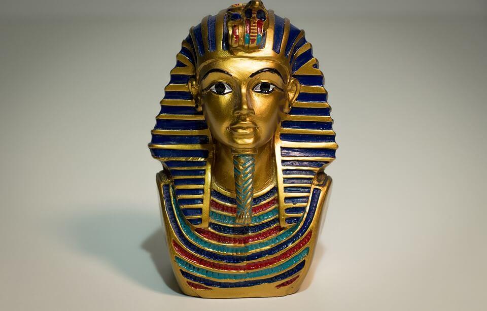 Blue in Egypt