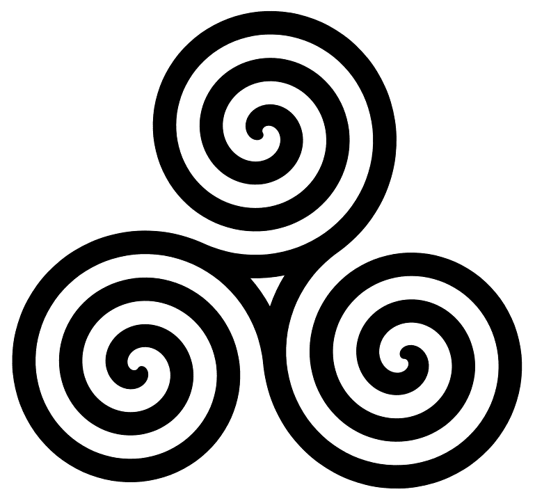 Celtic spiral knot