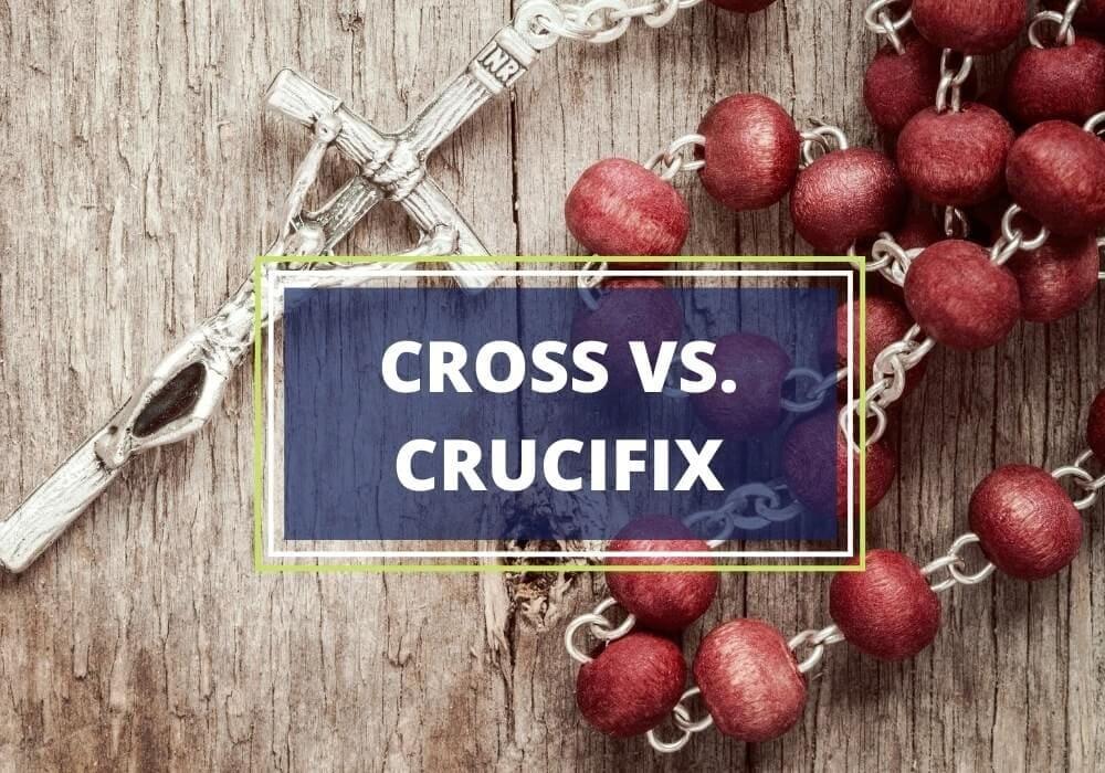 Cross vs crucifix