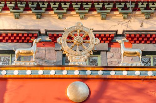 Dharma wheel history