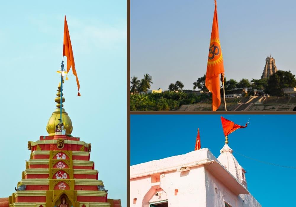 Dhvaja flag