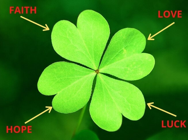 Four leaf clover meaning