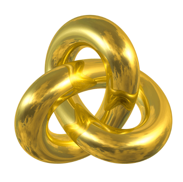 Gordian knot symbol
