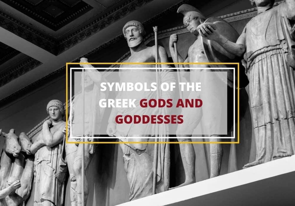 Greek gods symbols