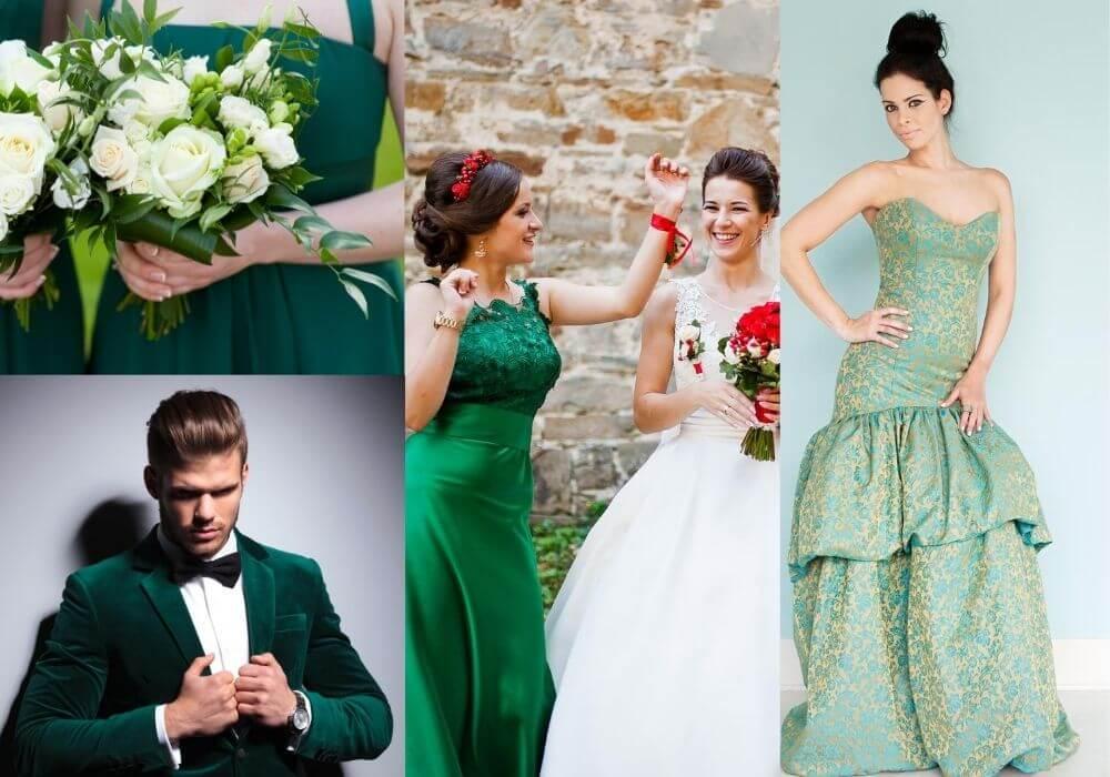 Green color in fashion