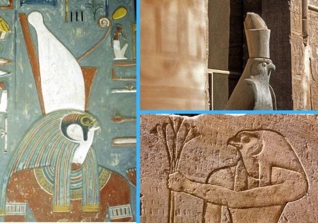 Horus depictions