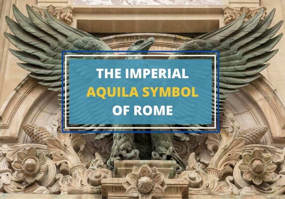 Aquila symbol of Rome