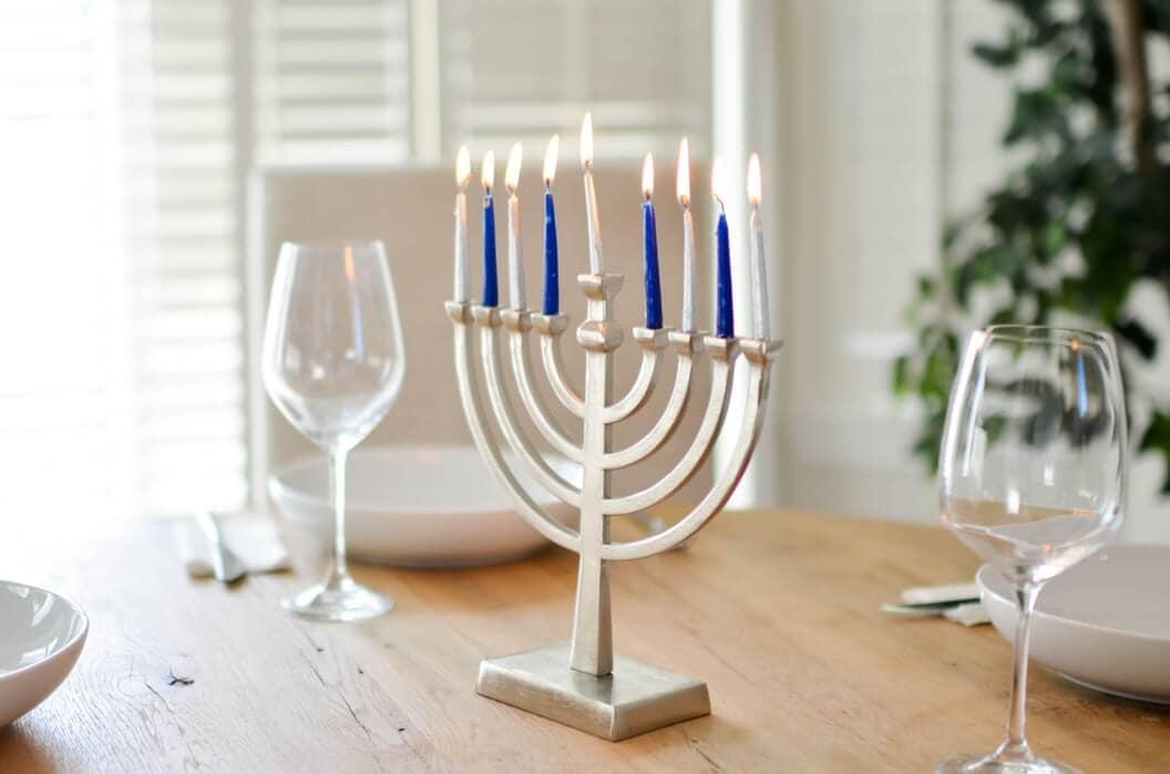 Jewish symbol menorah
