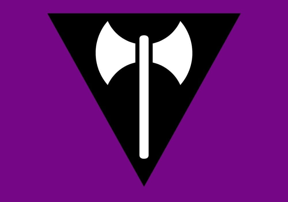 labrys flag lesbian