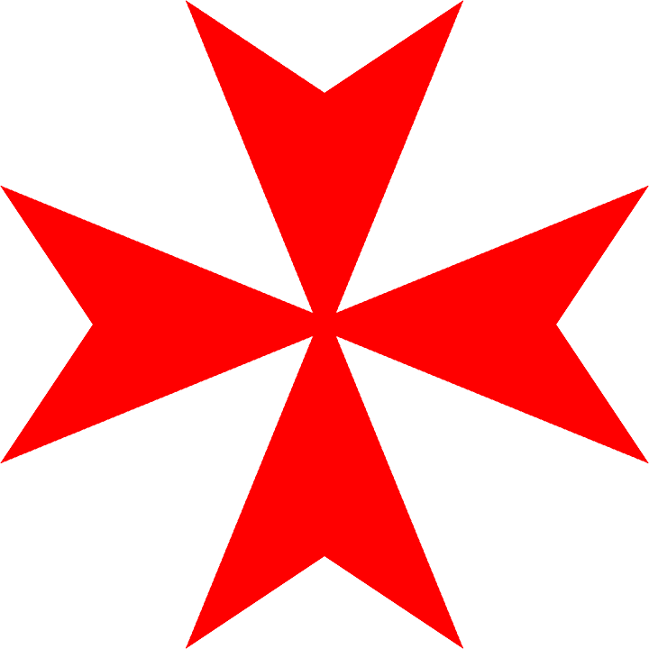 Maltese cross symbol
