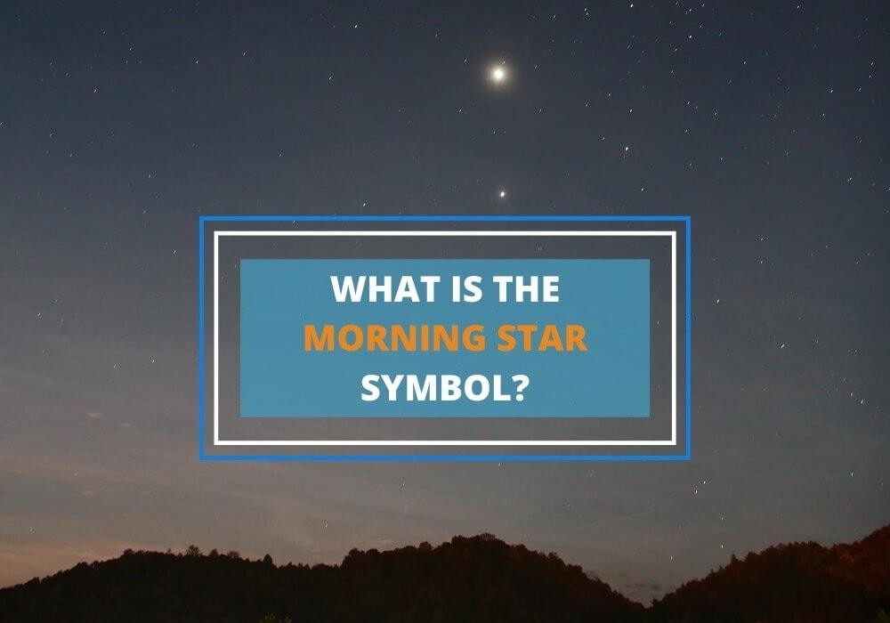 Morning star symbol