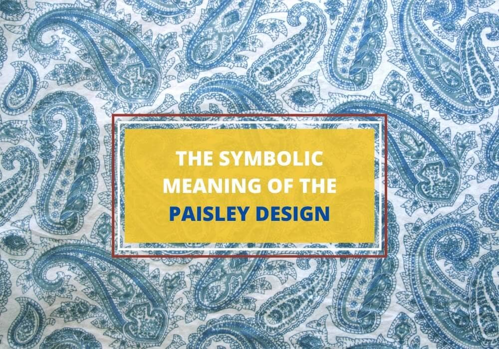Paisley design meaning