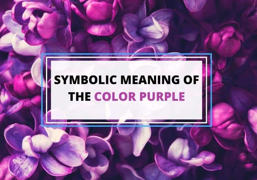Purple color symbolism