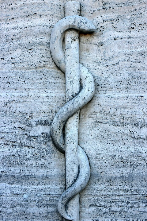 rod of asclepius symbol