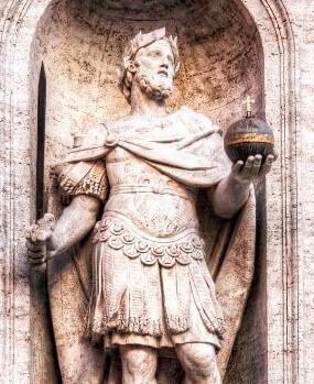 Roman globe symbol