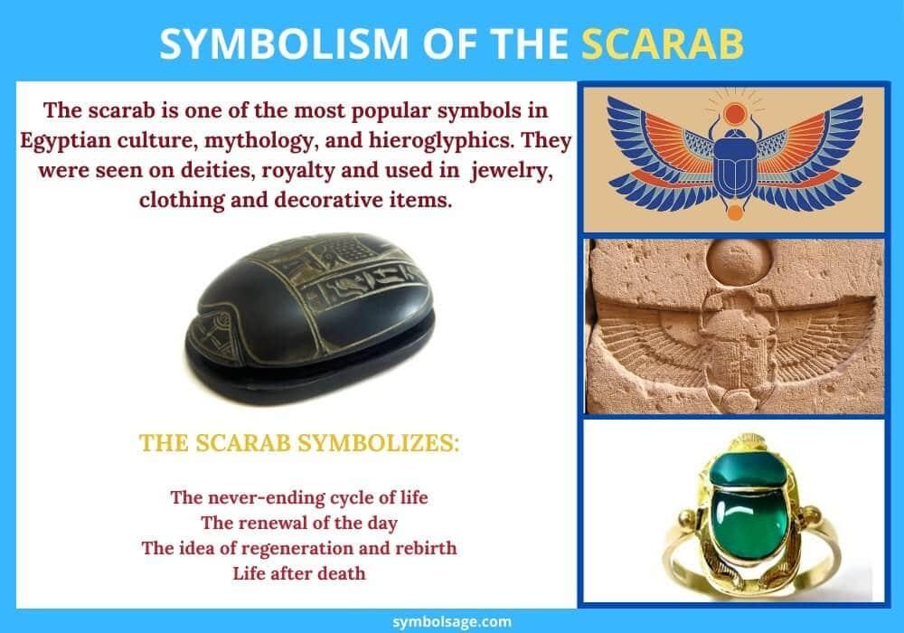 Scarab symbolism and origins