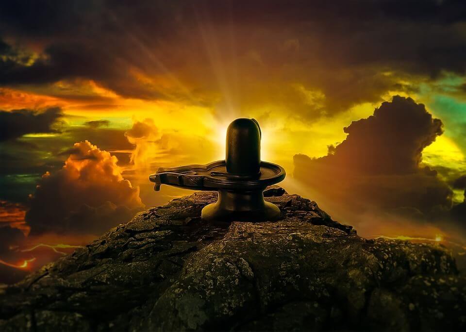 Shiva lingam history