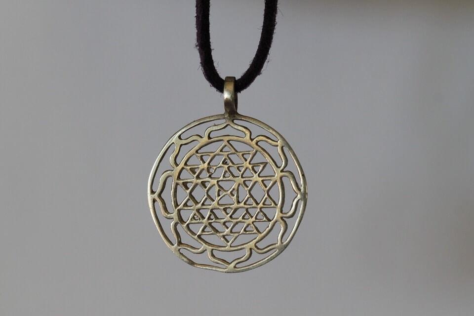 Sri yantra symbol