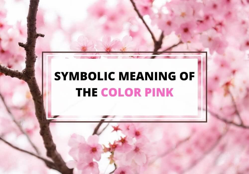 Symbolic meaning of pink color