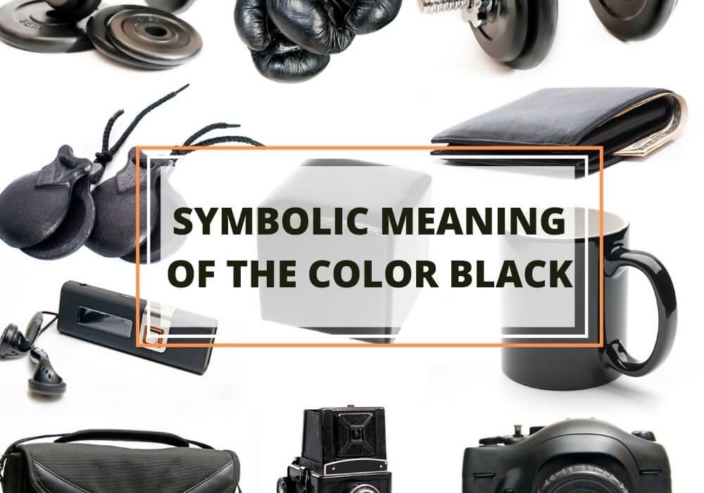 Symbolism of color black