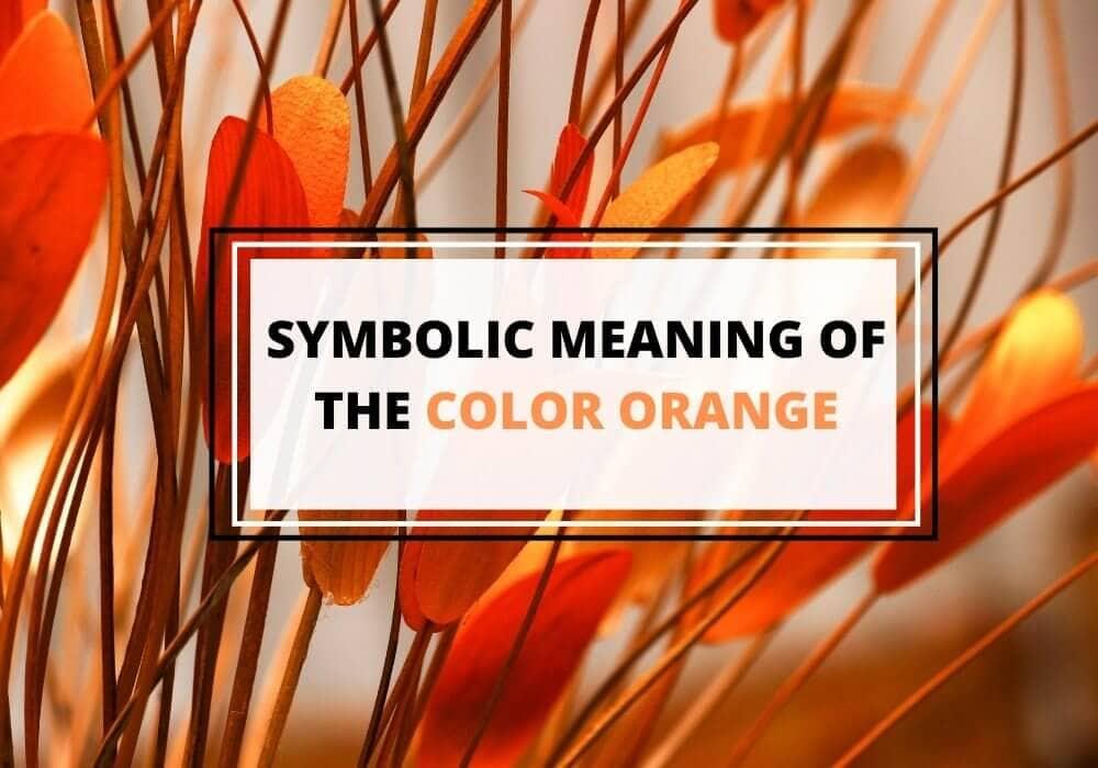 Symbolism of orange color