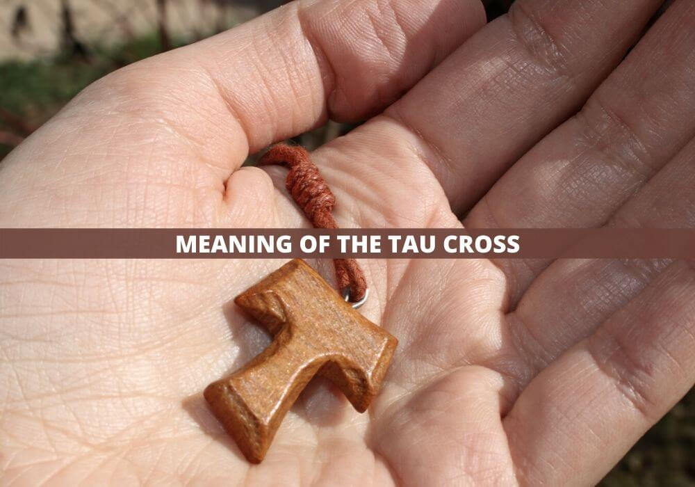Tau cross meaning