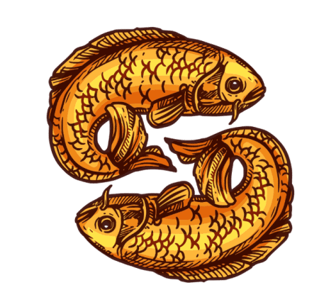 two golden fish Buddhism