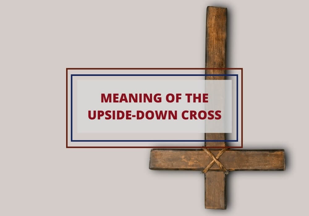 upside down cross meaning