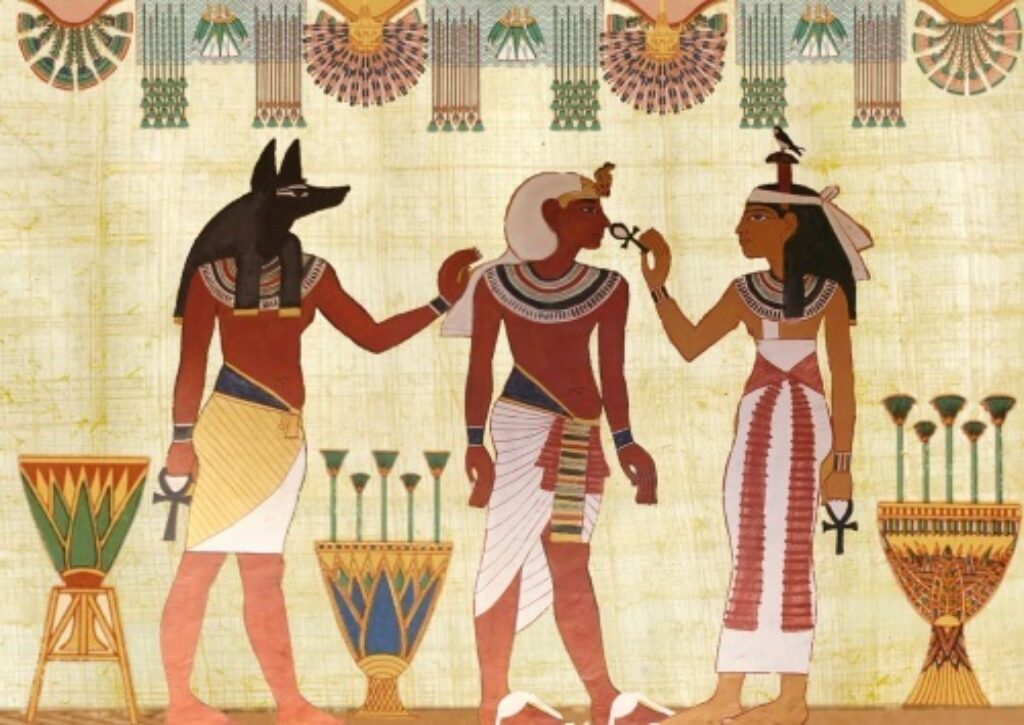 Use of brown ancient Egypt