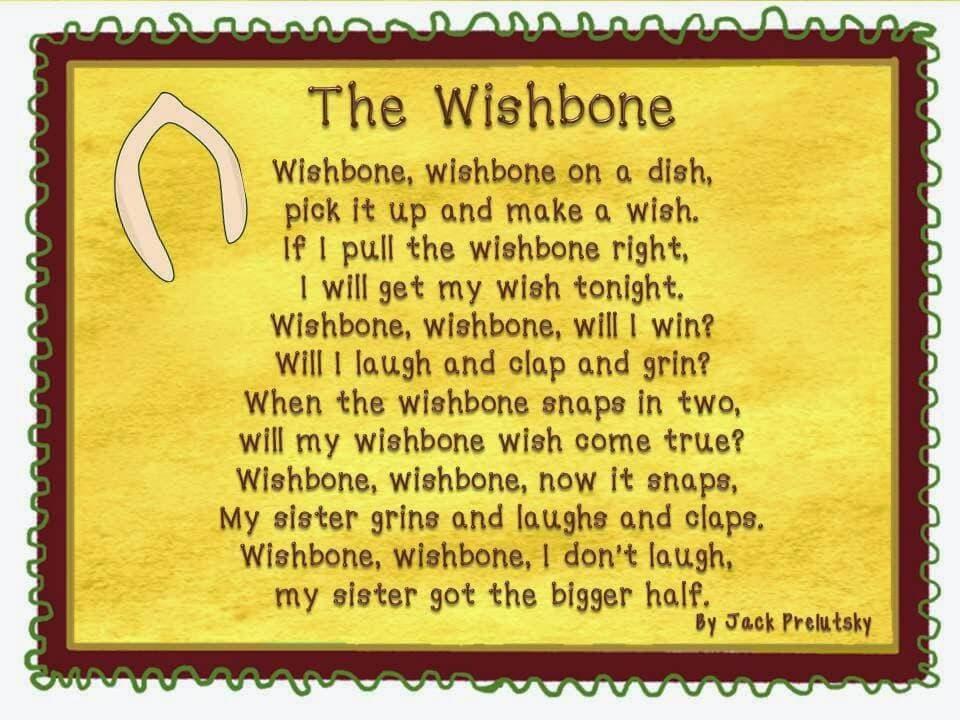 Wishbone poem
