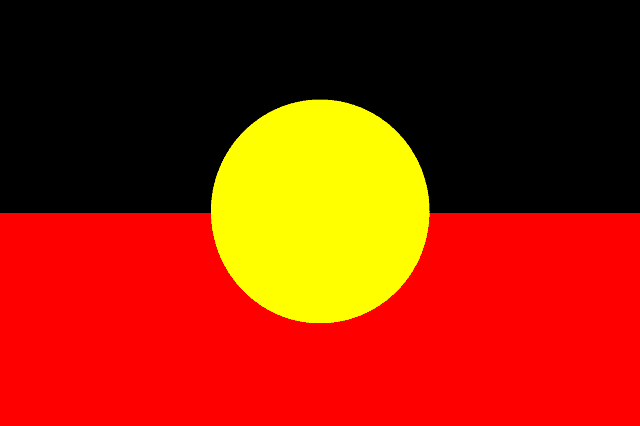 Australian aboriginal flag