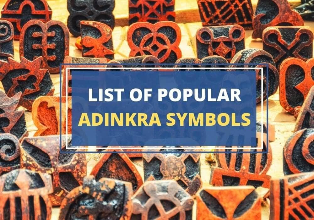 Adinkra symbol list