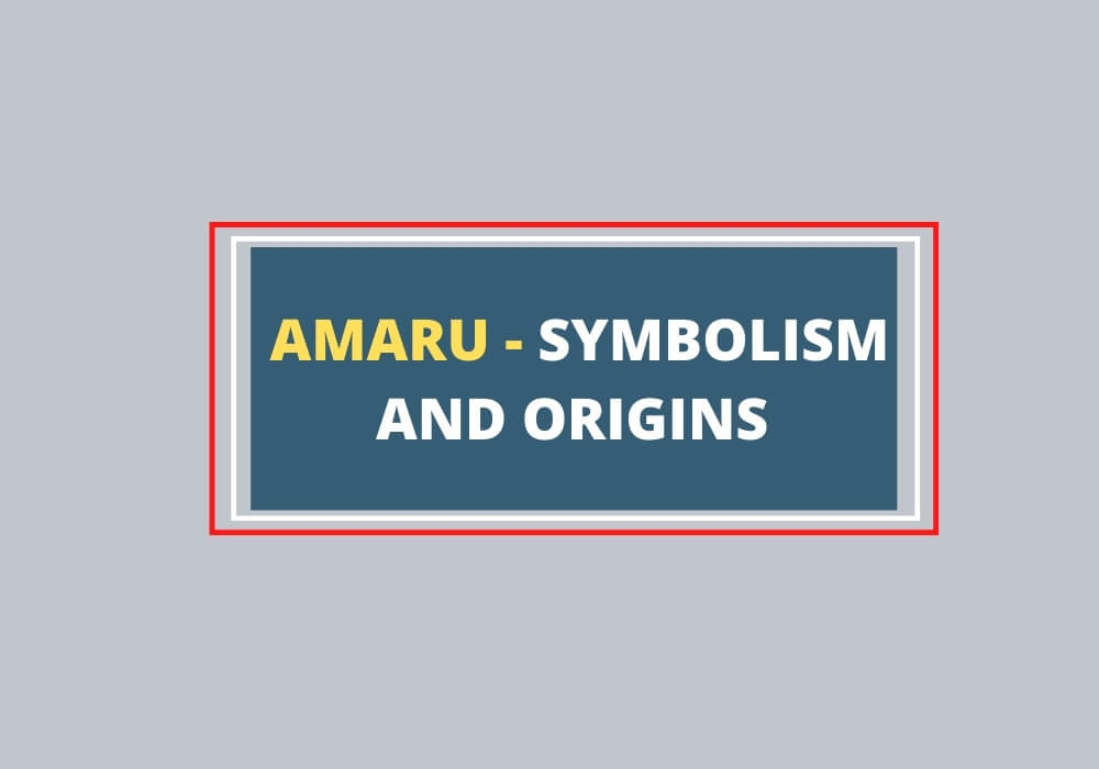 Amaru bird symbol