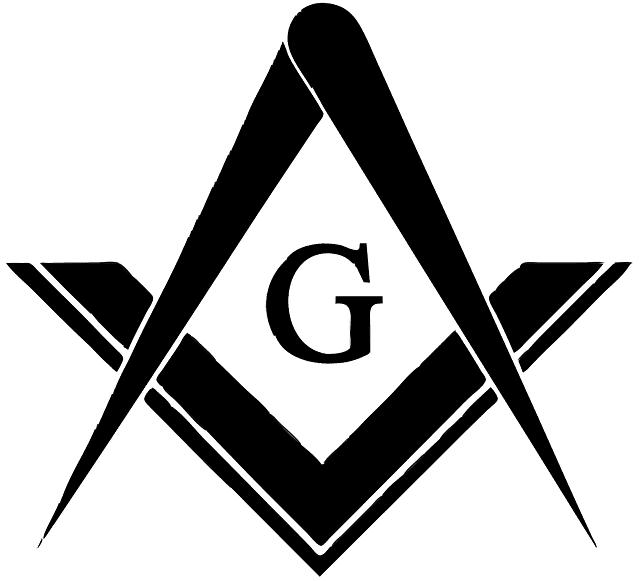 Capital letter g masonic symbol