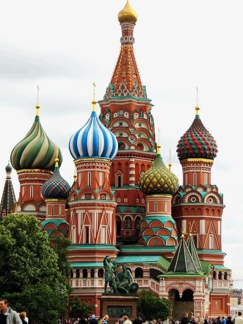 Cathedral st. basil Russia