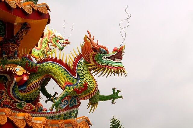 Chinese dragons appearance