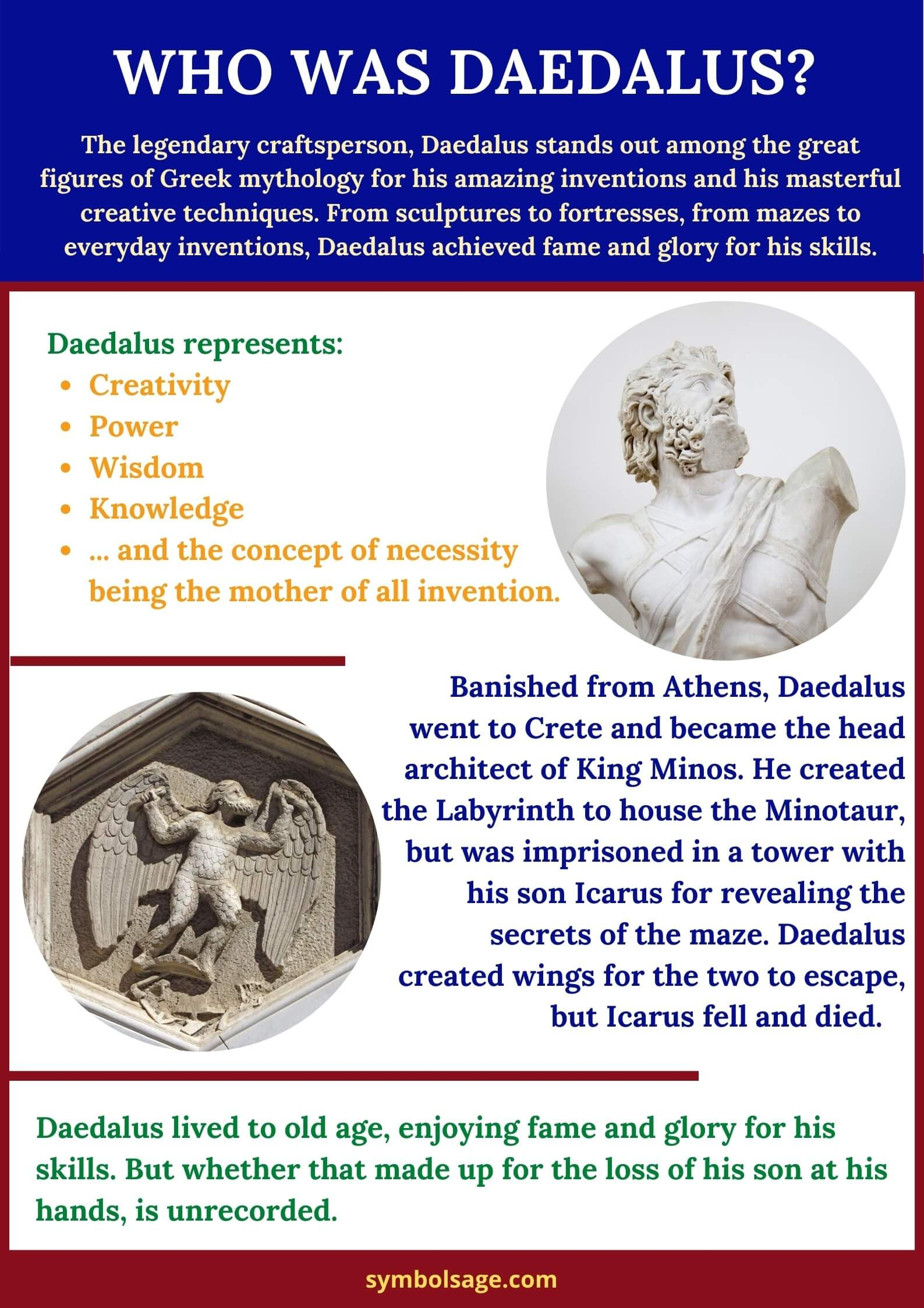 Who was Daedalus