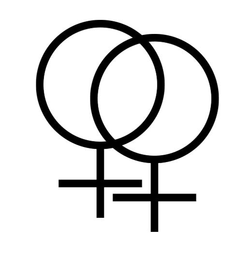 Double female symbol