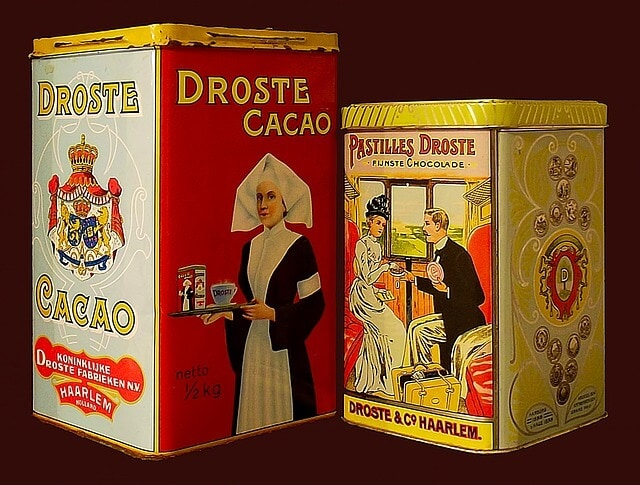 Droste effect chocolate ad