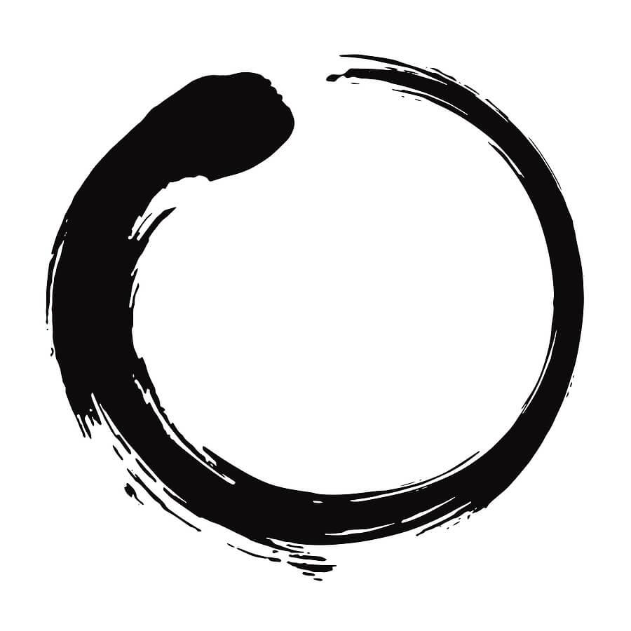Enso symbol design