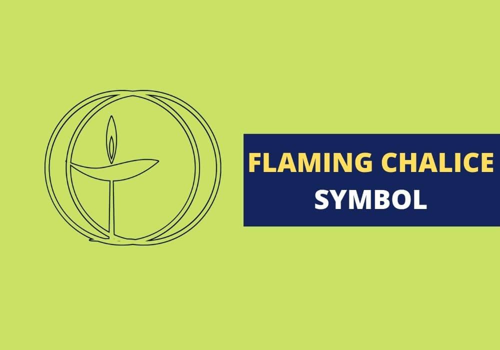 Flaming chalice symbolism