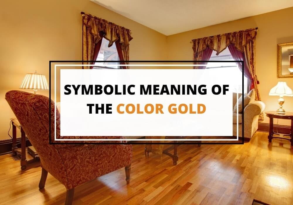 Gold color symbolism
