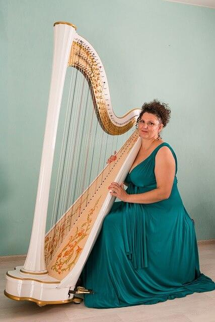 Harp symbol of love