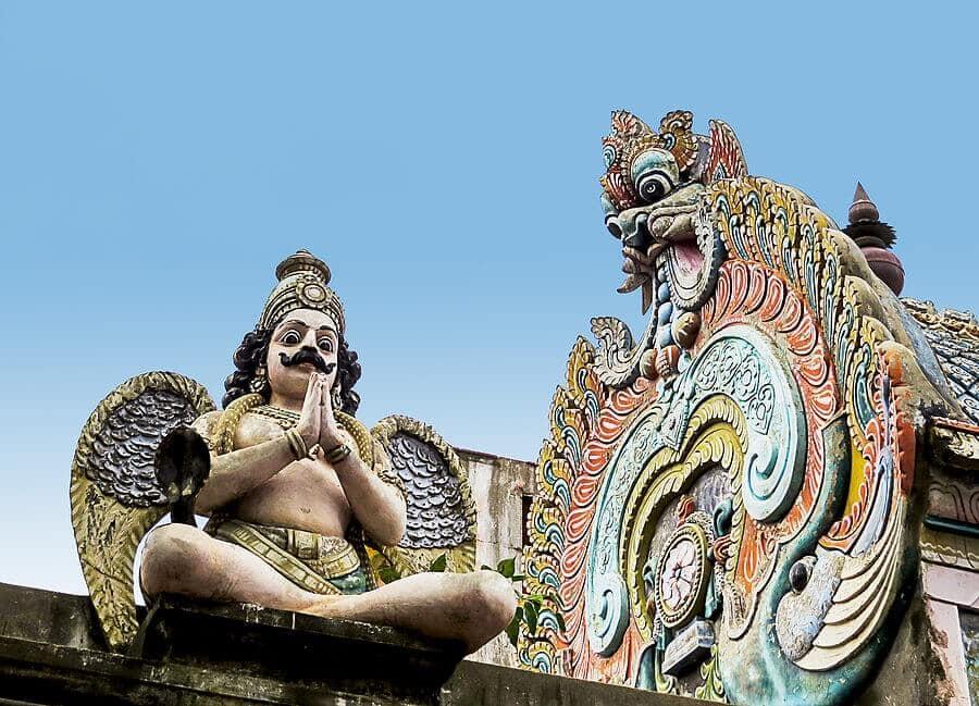 Hindu dragons