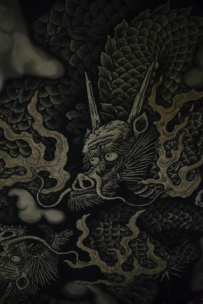 Japanese dragon at temple