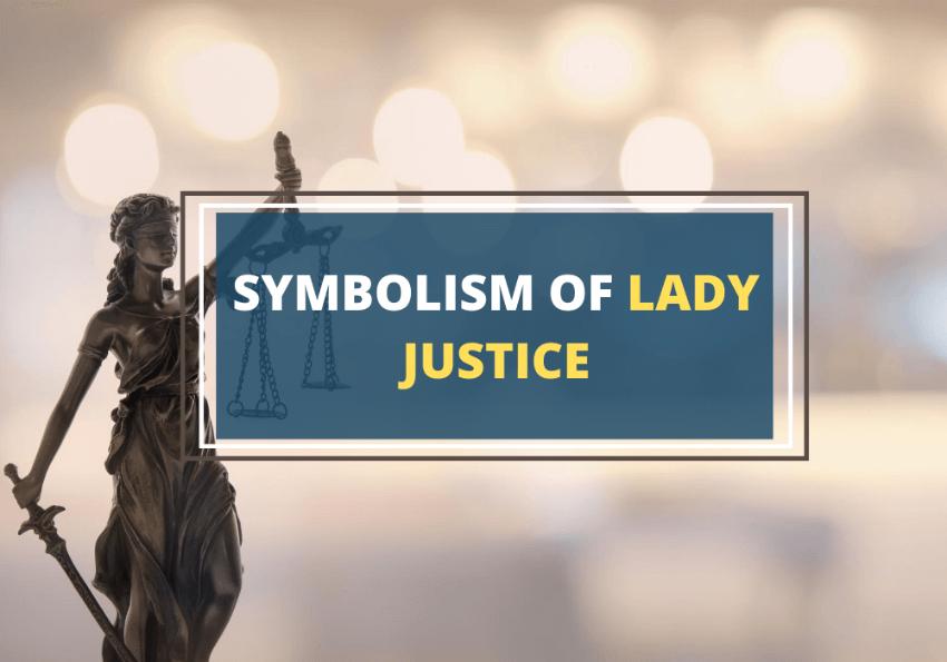 Lady justice symbolism