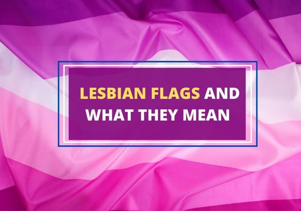 Lesbian flags